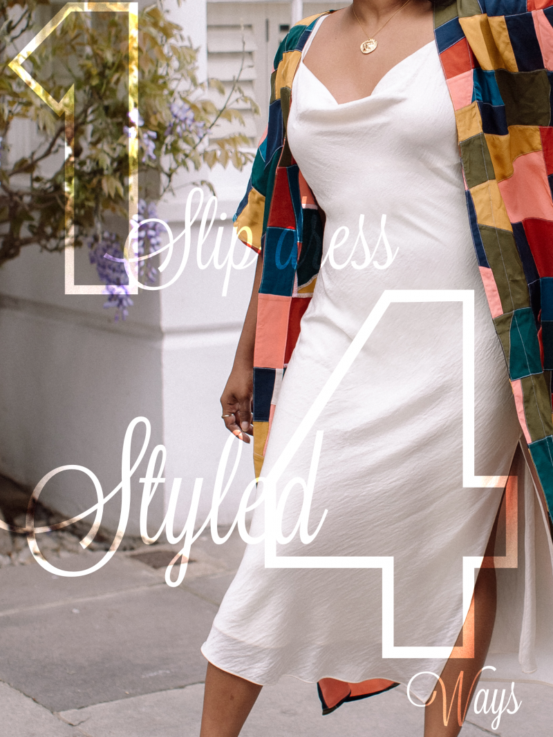 All You Need Is 1 Slip Dress