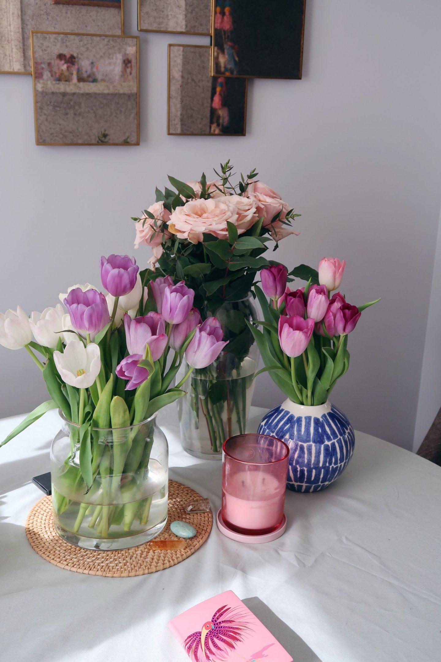 Blooms of Lock Down + Good Vases