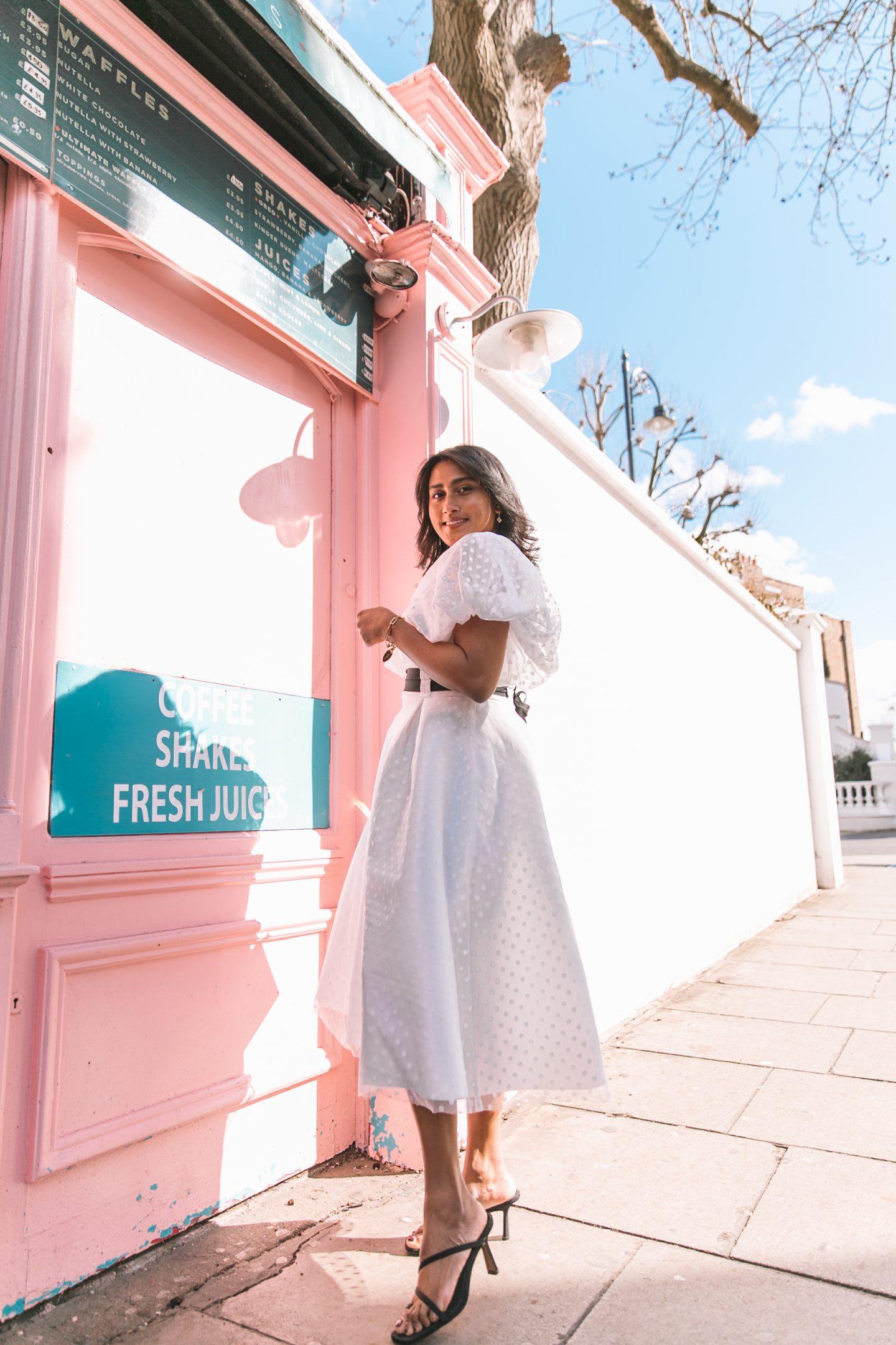 White Dresses For The Summer.