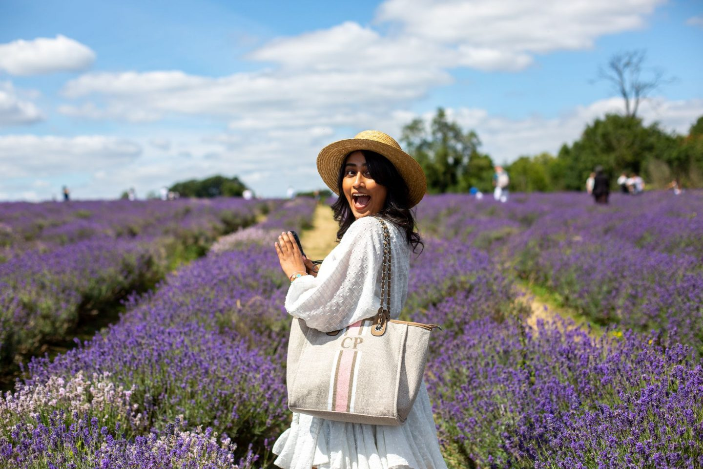 Lavender Fields In London! || Live in the moment
