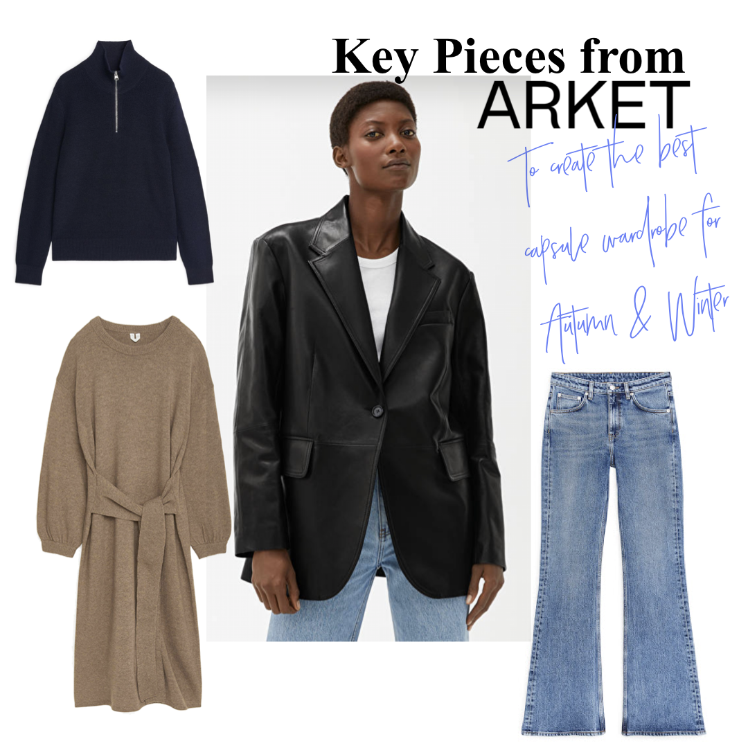 Best Pieces From Arket For The Perfect CapsuleWardrobe This Autumn/ Winter