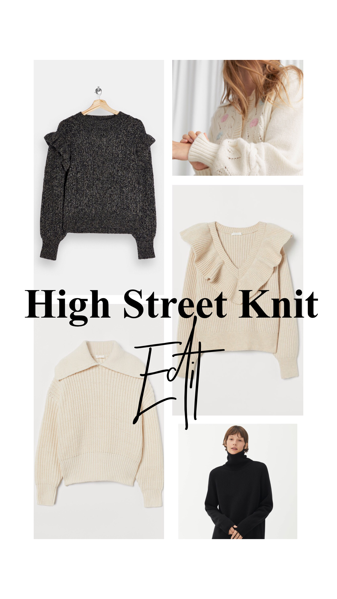 Best High Street Knit Wear This Winter