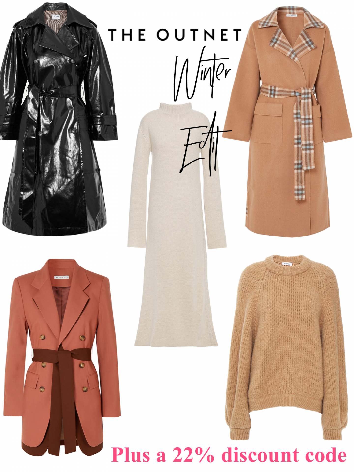 Winter Picks From The Outnet with a cheeky discount code